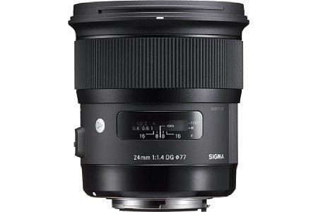 Bild Mit asphärischen Elementen, FLD-Glas und SLD-Linsen garantiert Sigma eine hohe Abbildungsleistung des 24 mm 1.4 DG HSM. [Foto: Sigma]