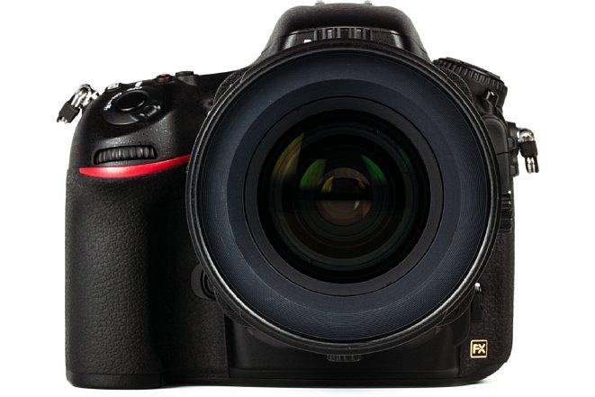 Bild Nikon Tilt-Shift-objektiv vertikal nach oben verschoben. [Foto: MediaNord]