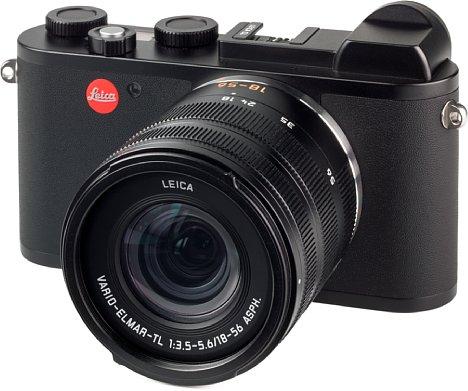 Bild Die Leica CL sieht aus wie eine klassische Messsucherkamera, sie ist aber viel kompakter und leichter, jedoch ähnlich solide verarbeitet. [Foto: MediaNord]