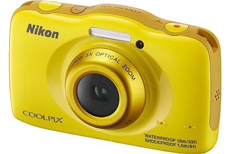 Bild Nikon Coolpix S32 in Nikon-Gelb. Mal etwas anderes! [Foto: Nikon]