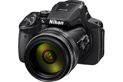 Bild Unter den Superzoom-Kameras hält derzeit die Nikon Coolpix P900 den Zoomfaktor-Rekord: der sagenhafte 83,3-facher Zoombereich deckt 24 bis 2.000 mm Kleinbildbrennweite ab. [Foto: Nikon]