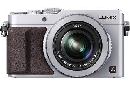 Bild Die Panasonic Lumix DMC-LX100 besitzt ein optisches 3,1-fach-Zoom mit Bildstabilisator, es deckt 25-75 Millimeter Brennweite entsprechend Kleinbild ab. [Foto: Panasonic]