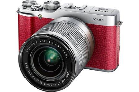 Fujifilm X-A1 mit Fujinon XC 16-50 mm [Foto: Fujifilm]
