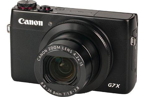 """Bild Die Canon PowerShot G7 X besitzt einen großen rückwärtig belichteten 1""""-CMOS-Sensor. [Foto: MediaNord]"""