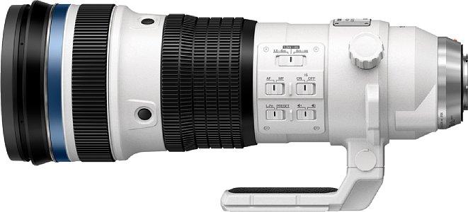 Bild Finales Design des Olympus M.Zuiko Digital ED 150- 400 mm F4.5 TC 1.25x IS Pro. [Foto: Olympus]