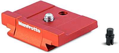 Manfrotto Schnellwechselplatte für MKBFRLA-BH Befree Advanced Alpha QPL. [Foto: Manfrotto]