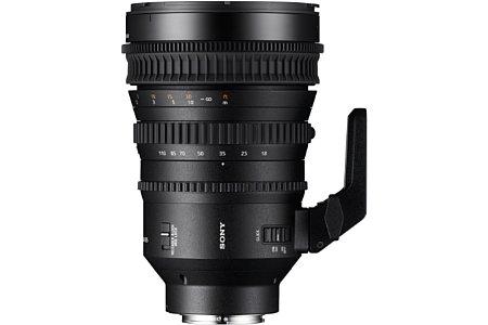 Sony E 18-110 mm F4 PZ G OSS (SELP18110G). [Foto: Sony]