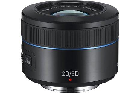 Bild Samsung NX Lens 45 mm 2D/3D Objektiv [Foto: Samsung]