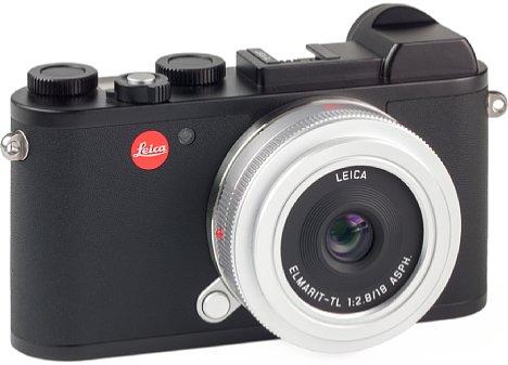 Bild Unser Testexemplar des Leica Elmarit-TL 1:2,8 / 18 mm Asph. ist silber, was unserer Ansicht nach an der schwarzen CL nicht unbedingt vorteilhaft aussieht. In Schwarz wäre die Kombination schön unauffällig für die Streetfotografie. [Foto: MediaNord]