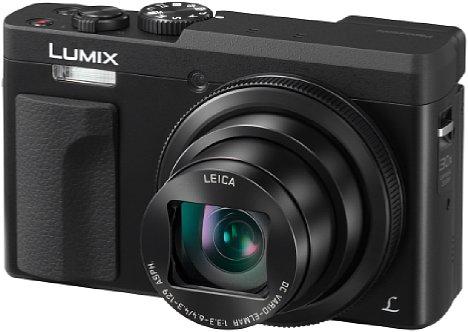 Bild Im nur vier Zentimeter flachen Gehäuse der Panasonic Lumix DC-TZ91 steckt ein optisches 30-fach-Zoom, das einen kleinbildäquivalenten Brennweitenbereich von 24 bis 720 Millimeter abdeckt. [Foto: Panasonic]