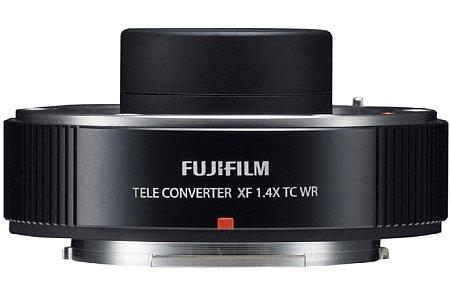 Bild Ab November 2015 soll der spitzwassergeschützte Fujifilm XF 1.4X TC WR Telekonverter für knapp 450 Euro erhältlich sein. Momentan ist er nur mit dem 2,8/50-140 kompatibel. [Foto: Fujifilm]