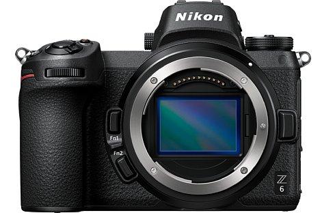 """Bild Der Vollformat-BSI-CMOS-Sensor der Nikon Z 6 bringt es auf """"nur"""" 24,5 Megapixel Auflösung, dafür bietet er eine höhere Empfindlichkeit und eine um 33 Prozent schnellere Serienbildrate als die Z 7. [Foto: Nikon]"""