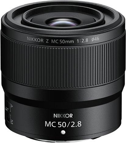 Bild Mit einem Straßenpreis von knapp unter 700 Euro kurz nach der Markteinführung (UVP ca. 730 Euro) ist dasNikon Z MC 50 mm F2.8das preisgünstigere der beiden neuen Makro-Objektive im Nikon-Z-System. [Foto: Nikon]