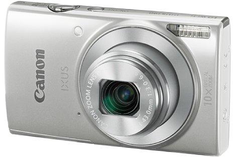 Bild Die Canon Ixus 190 zoomt optisch 10-fach von 24 bis 240 mm und bietet einen optischen Bildstabilisator sowie WLAN, kostet dafür aber auch 180 Euro. [Foto: Canon]