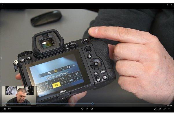 Bild In dem Schulungsvideo Kamerakurs Fortgeschrittene für Nikon erklärt Uli Soja fortgeschrittene Funktionen anhand von Nikon-Kameras (hier der Z 7II). [Foto: MediaNord]