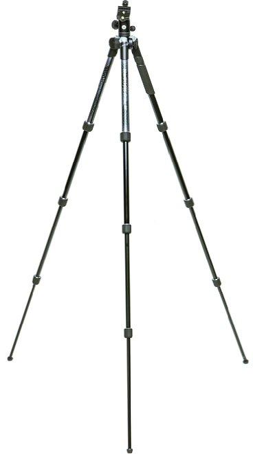 Bild Mit einer maximalen Arbeitshöhe von etwa 160 cm ist das Stativ angenehm hoch. [Foto: MediaNord]