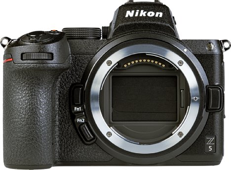 Bild Großer Vollformatsensor, noch größeres Bajonett: Das ermöglicht bei der Z 5 laut Nikon besonders lichtstarke Objektive. [Foto: MediaNord]
