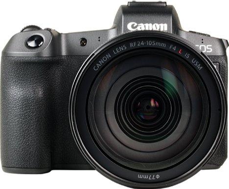 Bild Das RF 24-105 mm 4L IS USM ist das derzeit zoomstärkste Objektiv, das Canon für die EOS R anbietet. Es kostet im Set gut 1.000 Euro Aufpreis. [Foto: MediaNord]