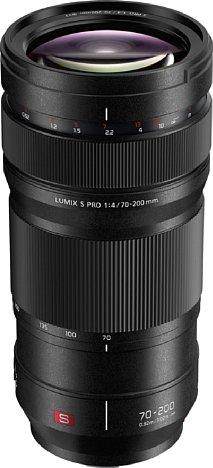 Bild Das Panasonic Lumix S Pro 70-200 mm 1:4.0 O.I.S. ist das erste und derzeit einzige Telezopomobjektiv für die S1 und S1R, sieht man einmal von den äußerst teuren Leica-Objektiven ab. [Foto: Panasonic]