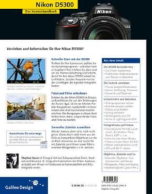Nikon D5300 – Das Kamerahandbuch [Foto: Galileo Press]