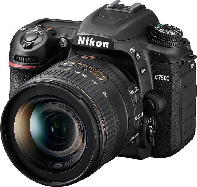 Bild Ab Ende Juni 2017 soll die Nikon D7500 zu einem Preis von knapp 1.500 Euro erhältlich sein, das Set mit dem lichtstarken Zoom AF-S Nikkor 16-80 mm 1:2,8-4E ED VR soll knapp 2.500 Eruo kosten. [Foto: Nikon]