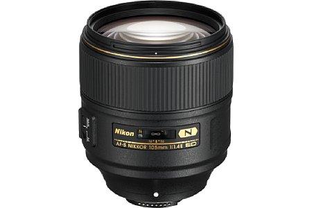 Bild Das Nikon AF-S 105 mm 1:1.4E ED ist das lichtstärkste derartige Objektiv am Markt, normalerweise gibt es eine Anfangsöffnung von F1,4 nur bis maximal 85 Millimeter Brennweite. [Foto: Nikon]