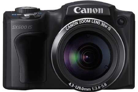 Canon PowerShot SX 500 IS [Foto: Canon]