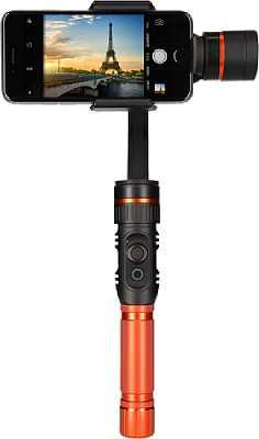 Der Rollei Profi Smartphone Gimbal eignet sich für praktisch alle Smartphones, auch für größere Modelle mit bis zu 6-Zoll-Display. [Rollei]