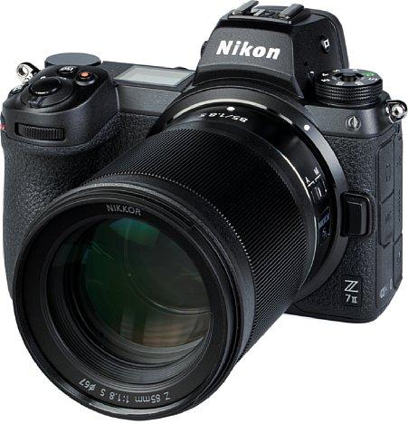 Bild Das Nikon Z 85 mm F1.8 S ist gegen Staub und Spritzwasser geschützt. Laut Nikon-Website verträgt es sogar eine Champagnerdusche. [Foto: MediaNord]