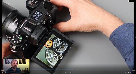 """Bild Manuel Quarta im Schulungs-Videos """"Nikon Z-System Spezial"""", Kapitel """"Splitscreen Anzeige zum Fokussieren nutzen"""". [Foto: MediaNord]"""