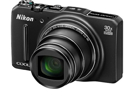 Bild Die Nikon Coolpix S9700 punktet mit einem 30fachen optischen Zoom. [Foto: Nikon]