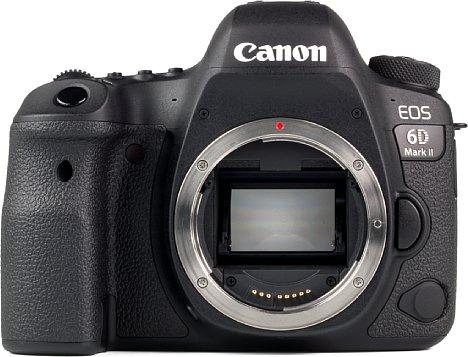 Bild Der Kleinbild-Vollformatsensor der Canon EOS 6D Mark II löst 26 Megapixel auf und bietet bis ISO 3.200 eine sehr gute Bildqualität. [Foto: MediaNord]