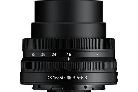 Bild Für den Betrieb muss das Nikon Nikkor Z DX 16-50 mm F3.5-6.3 VR ausgefahren werden. [Foto: Nikon]