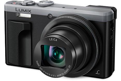Bild Die Panasonic Lumix DMC-TZ81 behält das optische 30-fach-Zoom (24-720 mm) des Vorgängermodells TZ71. [Foto: Panasonic]