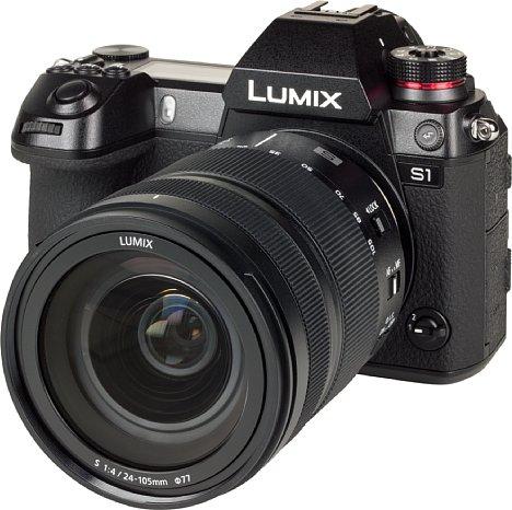 Bild Die Panasonic Lumix DC-S1 besitzt ein robustes Gehäuse aus einer Magnesiumlegierung, das auch gegen Spritzwasser, Staub, Stöße und Frost gewappnet ist. [Foto: MediaNord]