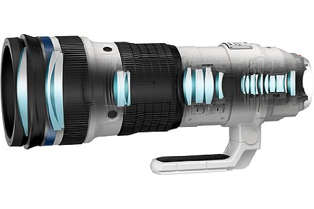 Olympus 150-400 mm 4.5 ED TC1.25x IS PRO. [Foto: Olympus]