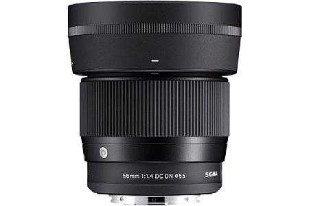 Sigma 56 mm 1:1.4 DC DN Contemporary. [Foto: Sigma]