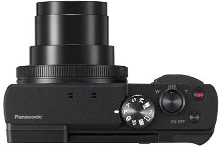 Bild Im nur gut vier Zentimeter flachen Gehäuse bringt die Panasonic Lumix DC-TZ91 ein optisches 30-fach-Zoom von umgerechnet 24 bis 720 Millimeter unter. [Foto: Panasonic]