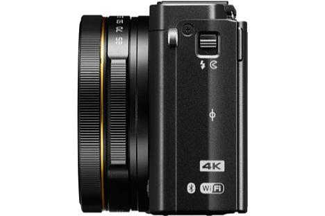 Bild Der goldene Ring am Objektiv der Nikon DL24-85 f/1.8-2.8 (und der anderen DL-Modelle) soll die Hochwertigkeit der Objektive unterstreichen. [Foto: Nikon]