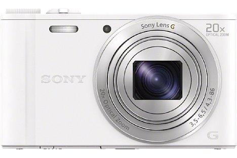 Bild ... und in Weiß geben. Für knapp 300 EUR soll die Sony Cyber-shot DSC-WX350 ab März 2014 erhältlich sein. [Foto: Sony]