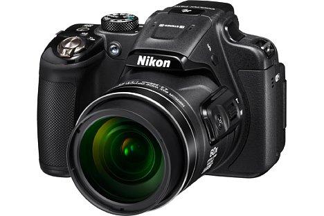 Bild Die Nikon Coolpix P610 arbeitet mit einem rückwärtig belichteten CMOS-Sensor, der 16 Megapixel auflöst. [Foto: Nikon]