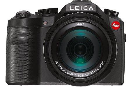 Bild Dem ersten Anschein nach könnte man vermuten, dass es sich bei der Leica V-Lux (Typ 114) um eine DSLR handelt. In Wahrheit ist sie aber eine leistungsfähige Bridgekamera. [Foto: Leica]