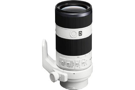 Bild Das Sony FE 70-200 mm 4 G OSS (SEL-70200G) verfügt über einen Knopf zur Fokusspeicherung. [Foto: Sony]