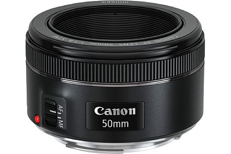 Canon EF 50 mm 1.8 STM. [Foto: Canon]