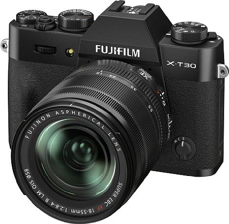 Bild Ab Oktober 2021 soll die Fujifilm X-T30 II in Silber und Schwarz zu einem Preis von knapp 900 Euro erhältlich sein. [Foto: Fujifilm]