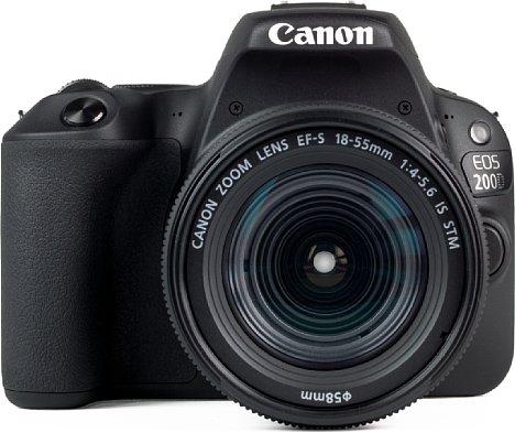 """Bild Die Canon EOS 200D ist die bislang kleinste DSLR mit beweglichem 3""""-Touchscreen. [Foto: MediaNord]"""