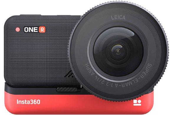 Bild Insta360 One R 1-Inch Edition (Frontansicht). [Foto: Insta360]