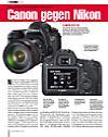 Canon EOS 6D gegen Nikon D600