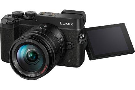 Bild Die Panasonic Lumix DMC-GX8 besitzt nun einen dreh- und schwenkbaren Touchscreen. [Foto: Panasonic]