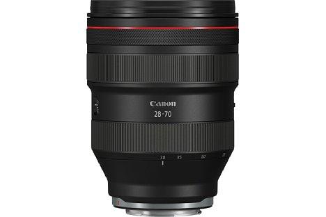 Bild Das Canon RF 28-70 mm 2L USM ist einzigartig lichtstark, jedoch auch äußerst groß und schwer. [Foto: Canon]